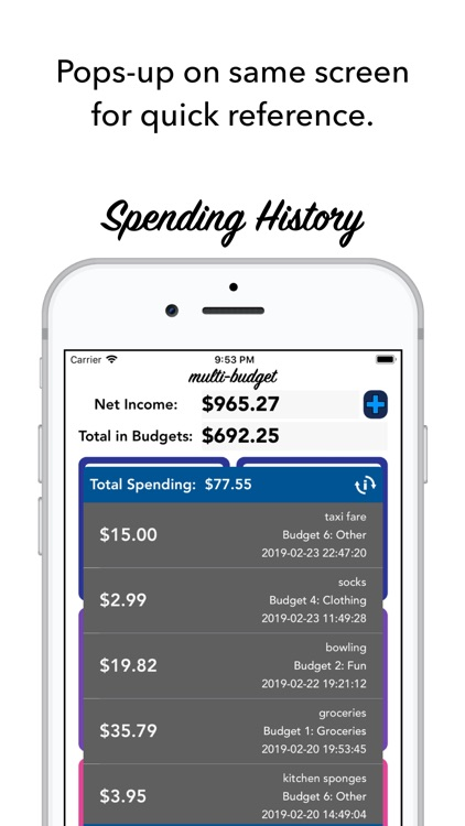 Multi-Budget screenshot-5