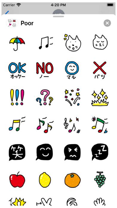 Poor Stickers Screenshot