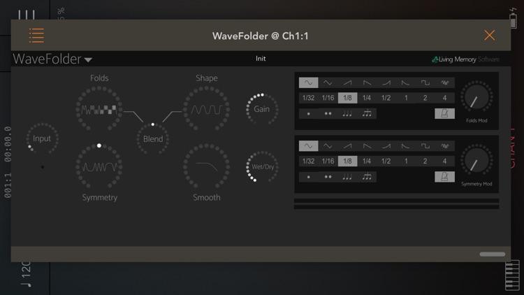 WaveFolder - Audio Unit