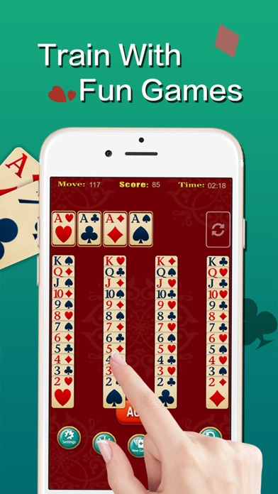 Screenshot for Solitaire ◆ in Venezuela App Store