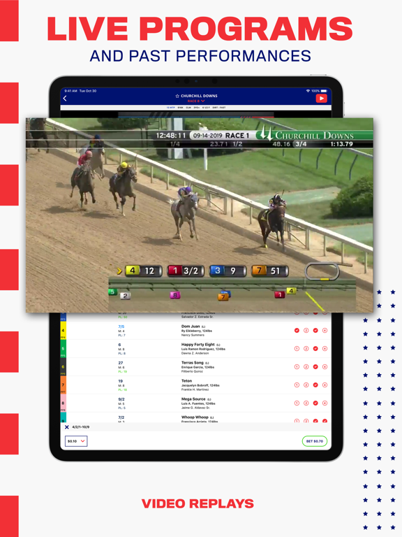 BetAmerica: Horse Betting & Greyhound Races – Live Racing Odds & Results screenshot
