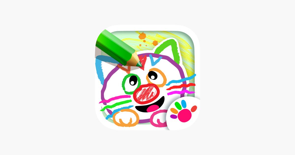 çocuk Ve Bebek Boyama Oyunları App Storeda