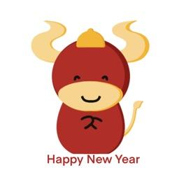 Chinese New Year Stickers 2021