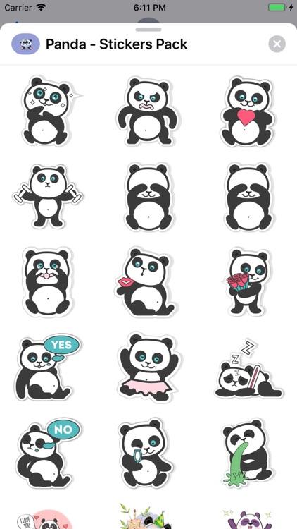 Panda - Stickers Pack