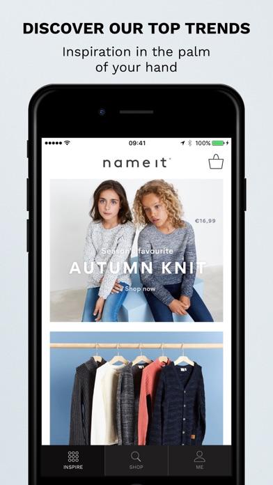 Screenshot #1 pour NAME IT - Kids Clothes