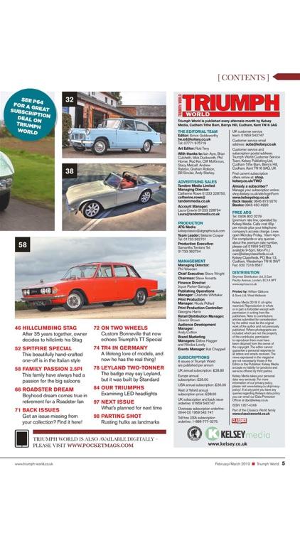 Triumph World Magazine screenshot-4