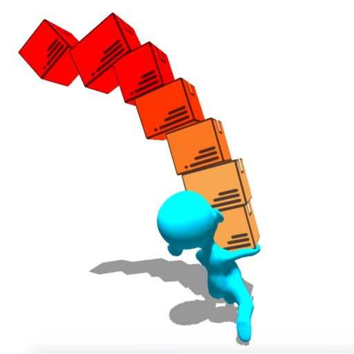 Box Stack Tower Balance