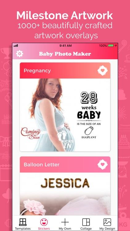 Baby Story Photo Maker screenshot-3