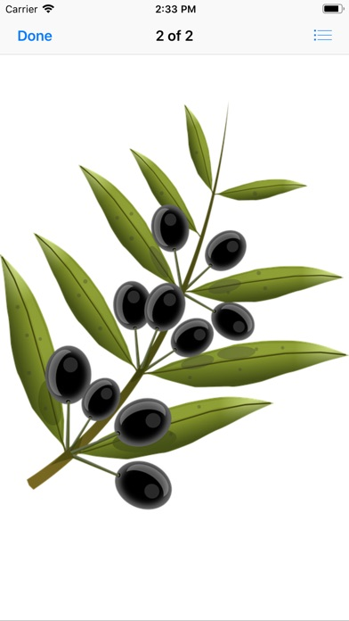 Olive Branch Stickers app image