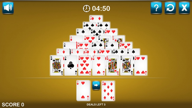 Solitaire Pyramid Card