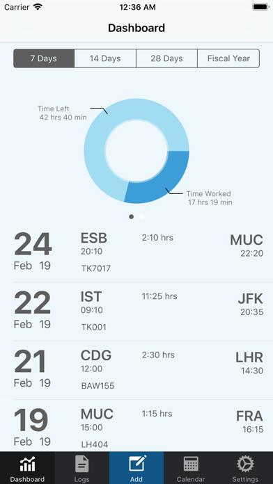 AvioLog - Flight Time Logger app image
