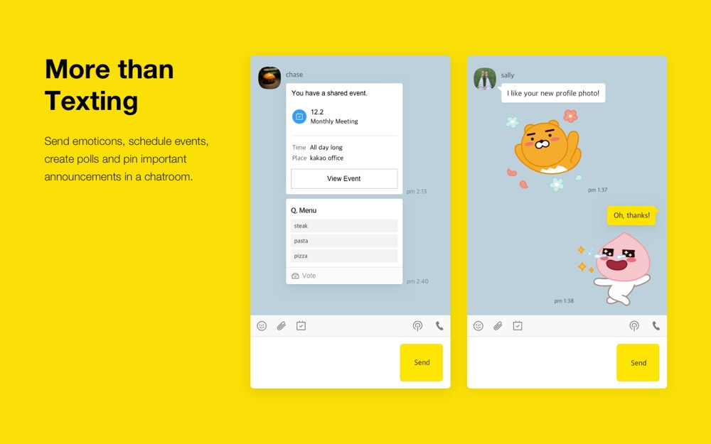 Kakaotalk App For Iphone Free Download Kakaotalk For Iphone At Apppure