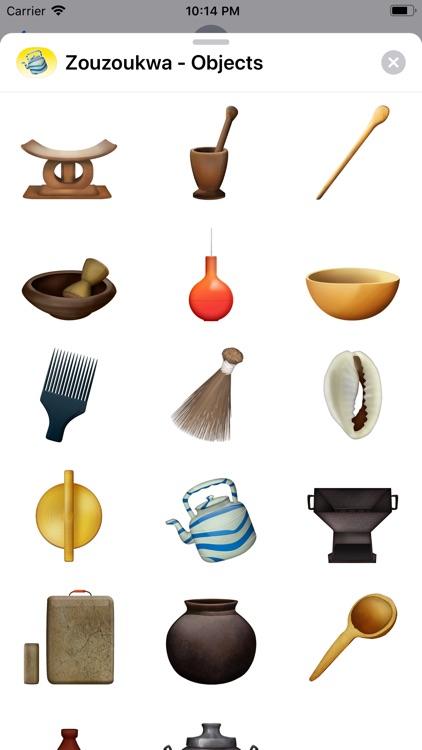 Zouzoukwa - Objects