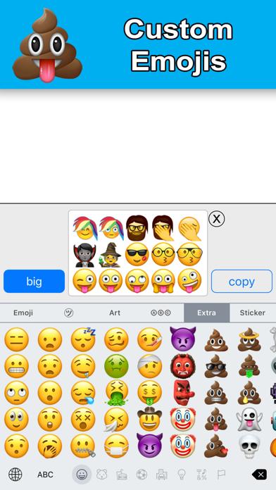 New Emoji - Extra Smileysのおすすめ画像2