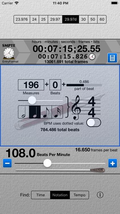 SMPTE Score by Patrick Q  Kelly