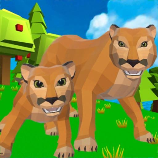 Cougar Simulator: Big Cats