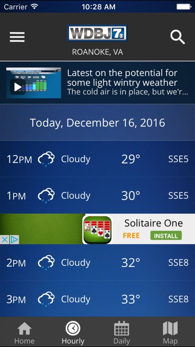 messages.download WDBJ7 Weather & Traffic software