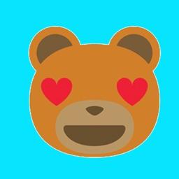 Teddy bear emoji & stickers