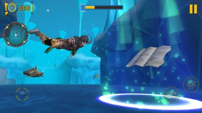 Superhero Aqua Man screenshot 5