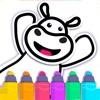 幼児 色塗り ゲーム! お絵かき 画像 学習 アプリ - iPadアプリ