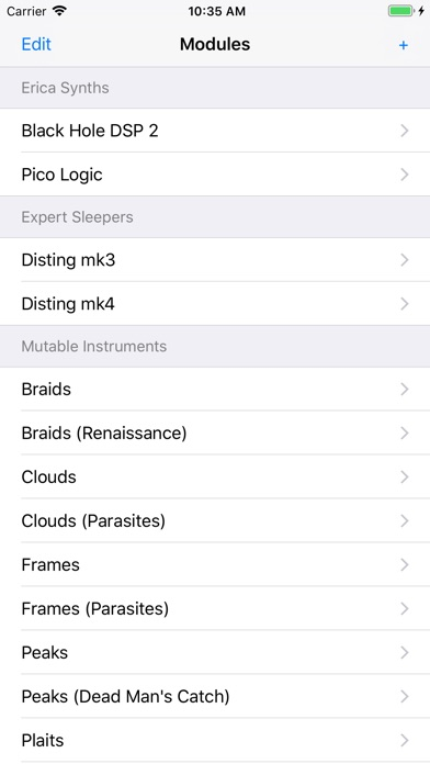 Screenshot for Synth Modes in United States App Store