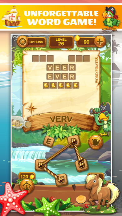Word Pirates: Word Puzzle Game screenshot 3