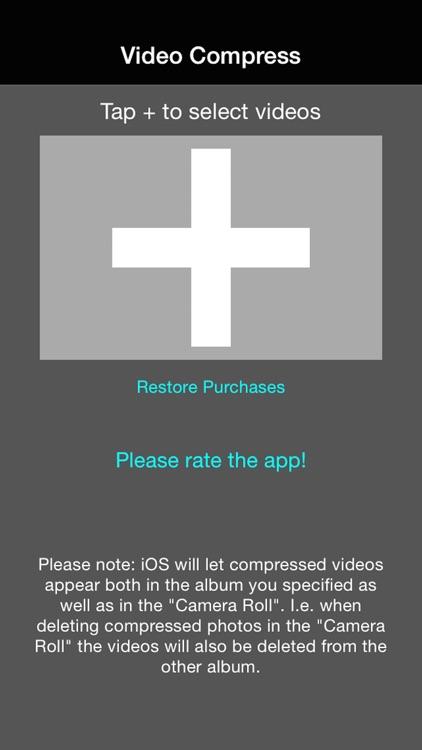Video Compress - Shrink Vids screenshot-0