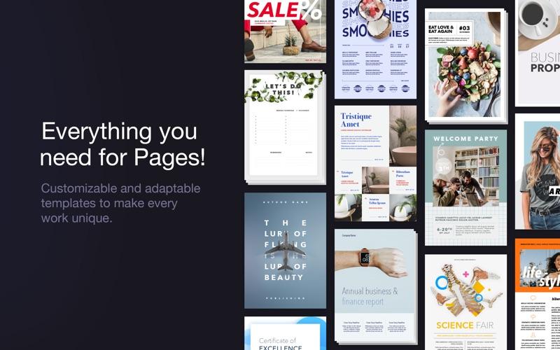 Toolbox for Pages - шаблоны скриншот программы 2