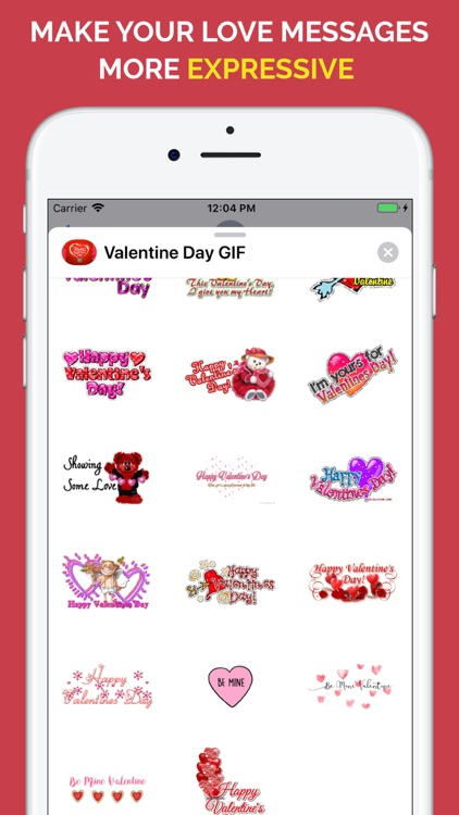 Happy Valentine's Day GIF screenshot-2