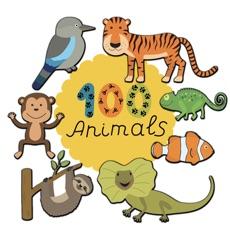 100 Animal Stickers