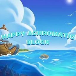 Happy Achromatic Block