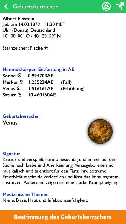 AstroStar: Horoskope berechnen screenshot-4