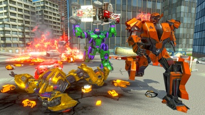 Incredible Monster Robot War screenshot three