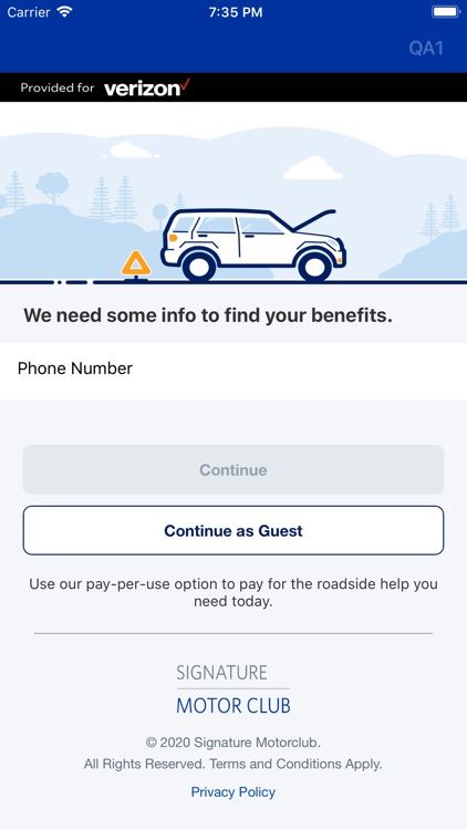 Verizon Roadside Assistance