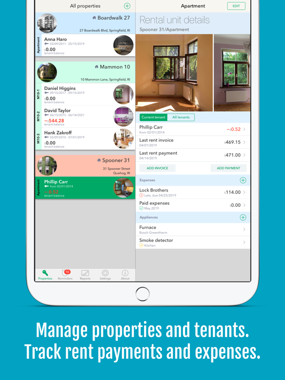 Landlordy (free) - rental property management for private landlord screenshot