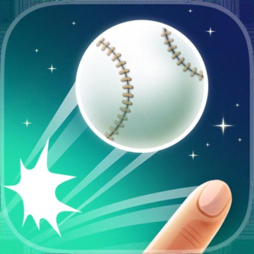 Flick Hit Baseball : Home Run
