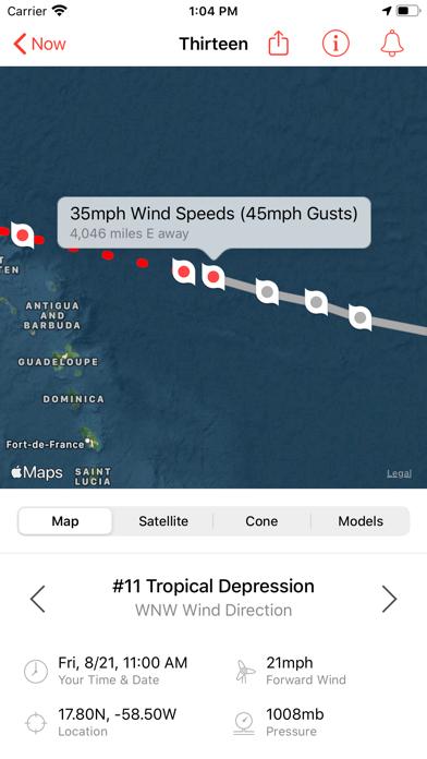 My Hurricane Tracker & Alertsのおすすめ画像1