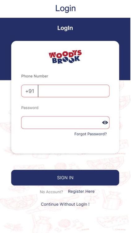 Woodys Brook
