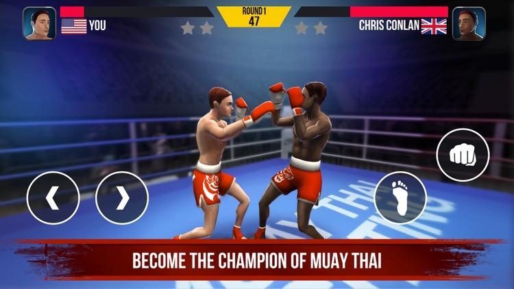 Muay Thai Fighting: Real Fight screenshot-4
