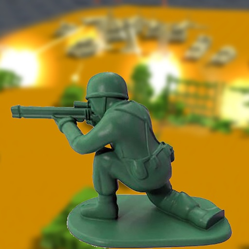 Toy World War - Army Men Fight