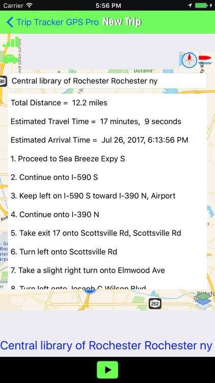 Trip Tracker GPS Professional screenshot-4