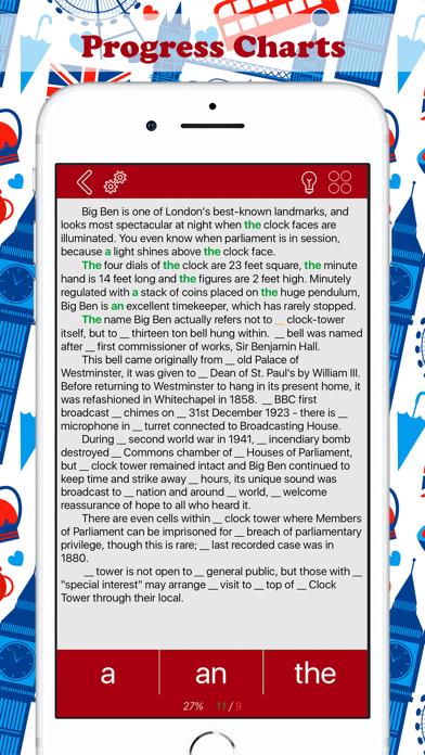 Articles in English: Learn Screenshots