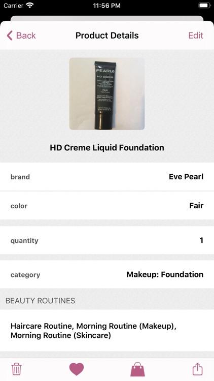 myBeautyCache Makeup Organizer