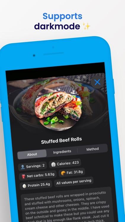 Keto Diet Recipes screenshot-4