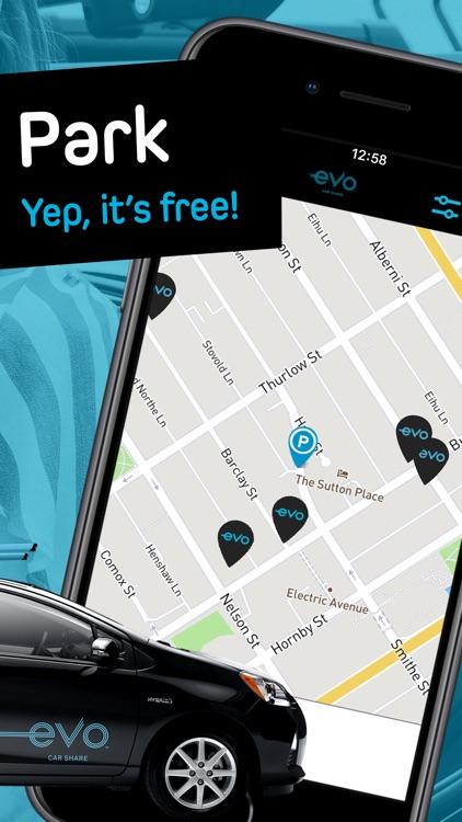 Evo Car Share screenshot-3
