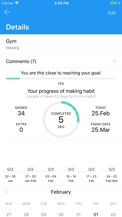 GetUsed – Best Habit Trainer