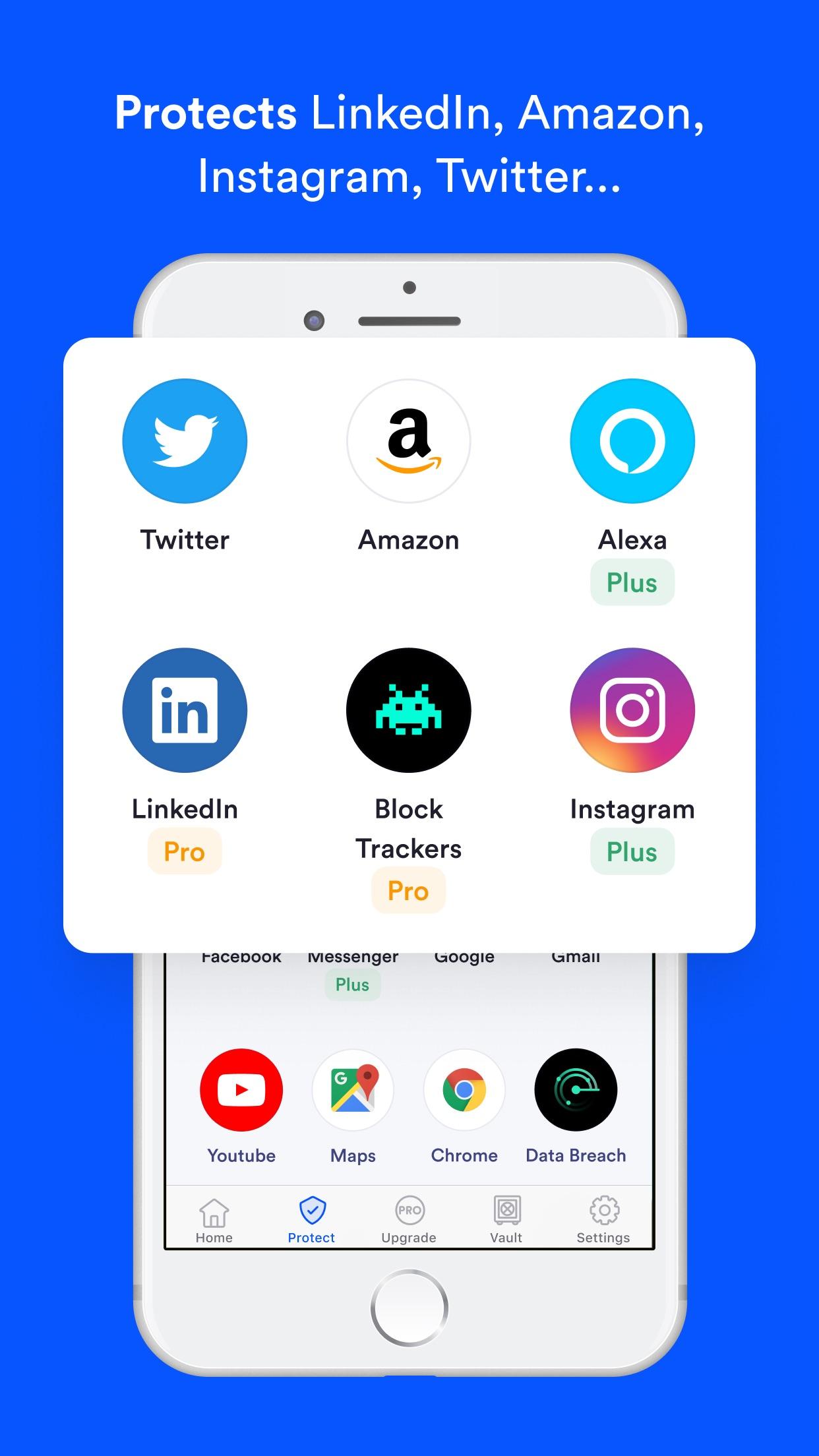 Screenshot do app Jumbo: Privacy + Security