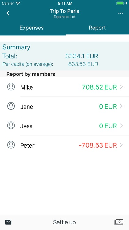 Comoney Lite screenshot-1