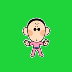 阿东emoji表情包-iMessage动态贴纸