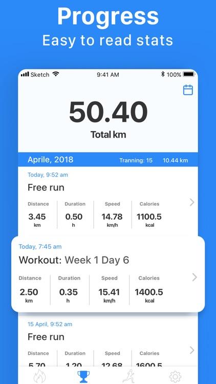 Weight Loss Running & Walking screenshot-3